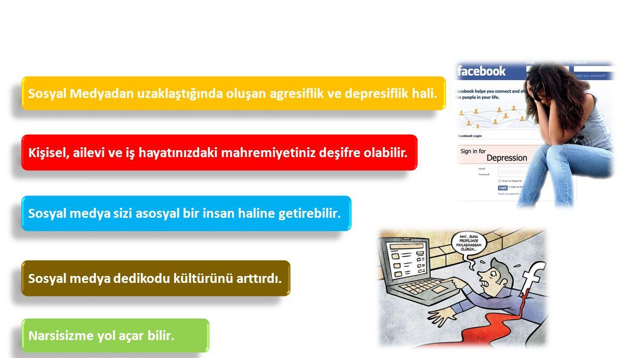 Sosyal Medyanın Zararları Sosyal medya sizi asosyal bir insan haline getirebilir.