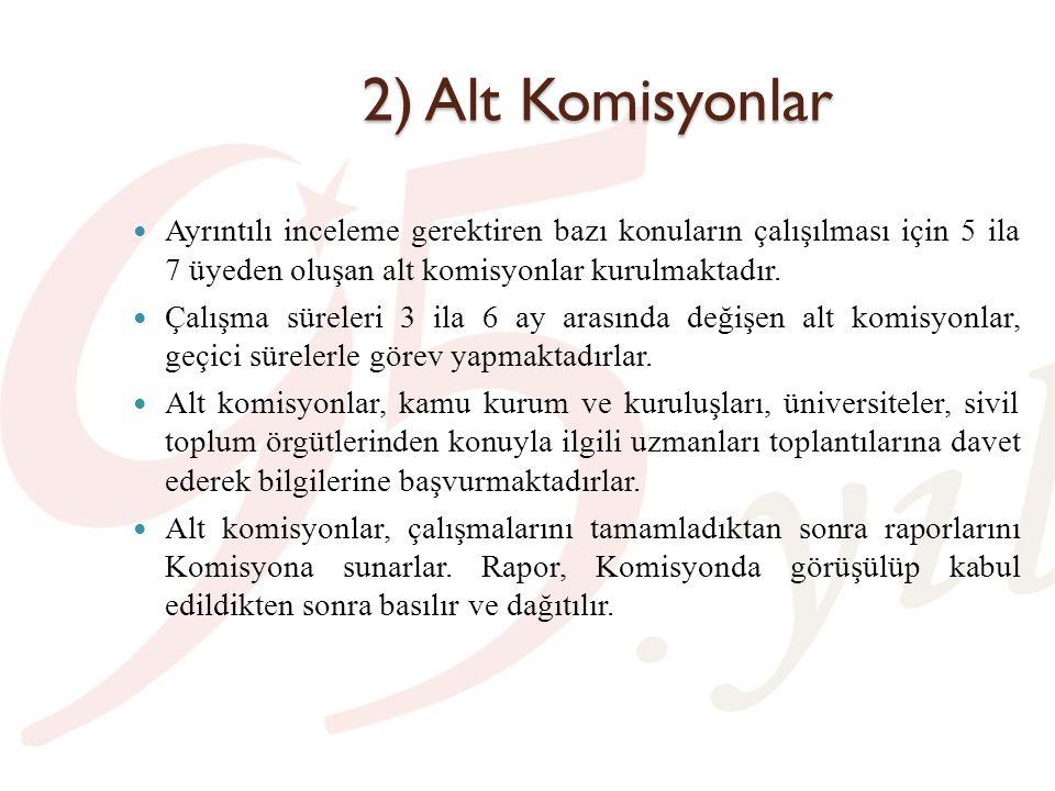 Alt Komisyon Raporları (23.