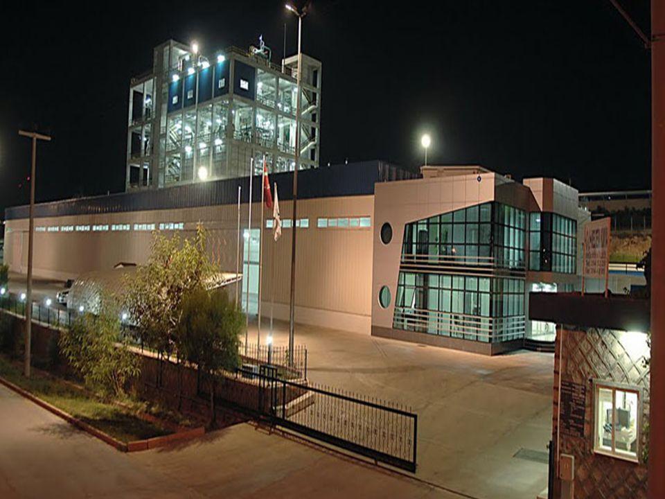 PET Resin üretim tesisinde genellikle iki ürün çalışmaktadır (720 ve 820 IV).