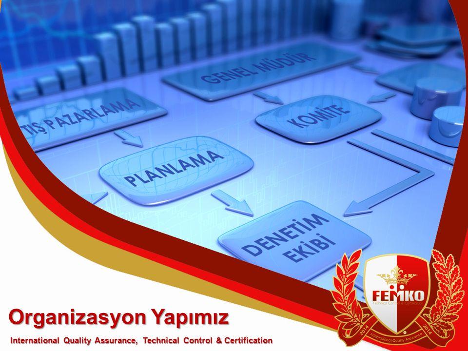 Organizasyon Yapımız International Quality Assurance, Technical Control & Certification