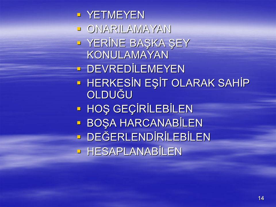 ZAMANIN ÖZELLİKLERİ ( Prof. Dr. Adnan KULAKSIZOĞLU ) ZAMANIN ÖZELLİKLERİ ( Prof.