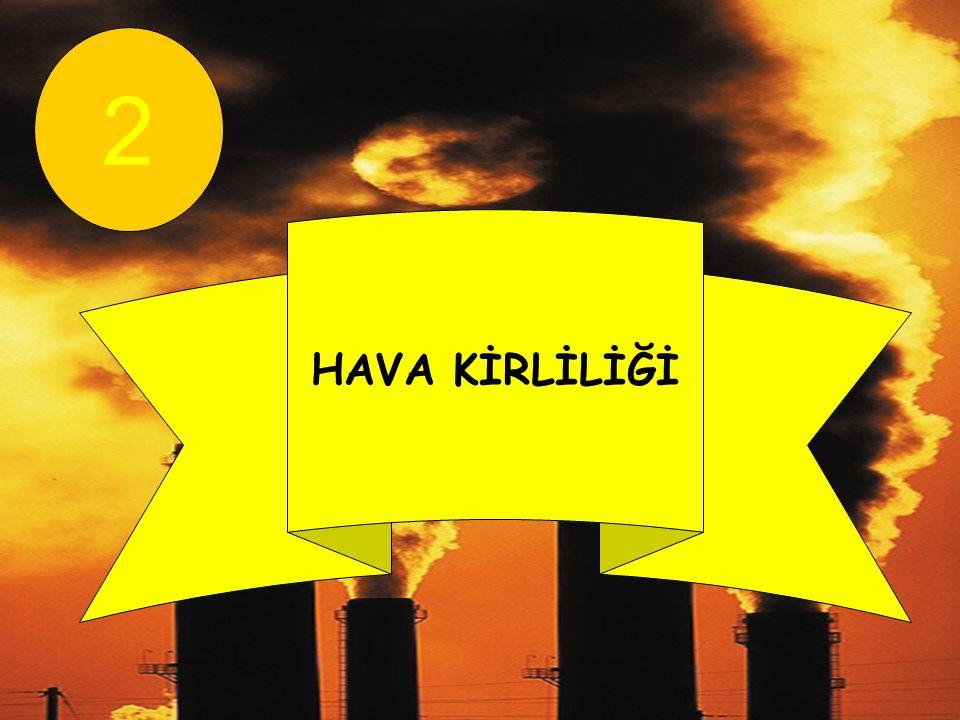 HAVA KİRLİLİĞİ 2