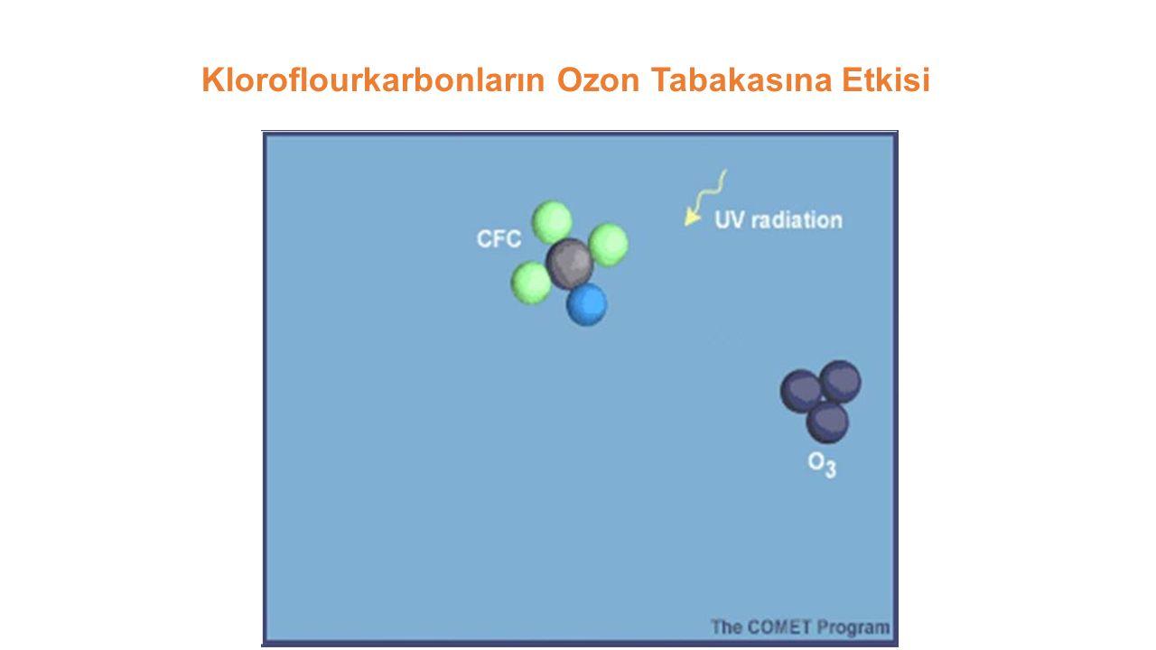 Kloroflourkarbonların Ozon Tabakasına Etkisi