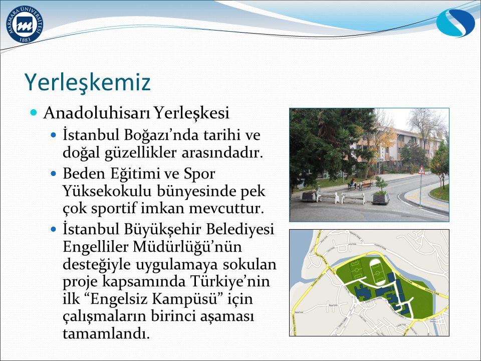 Yerleşkemiz Anadoluhisarı Yerleşkesi İstanbul Boğazı'nda tarihi ve doğal güzellikler arasındadır.