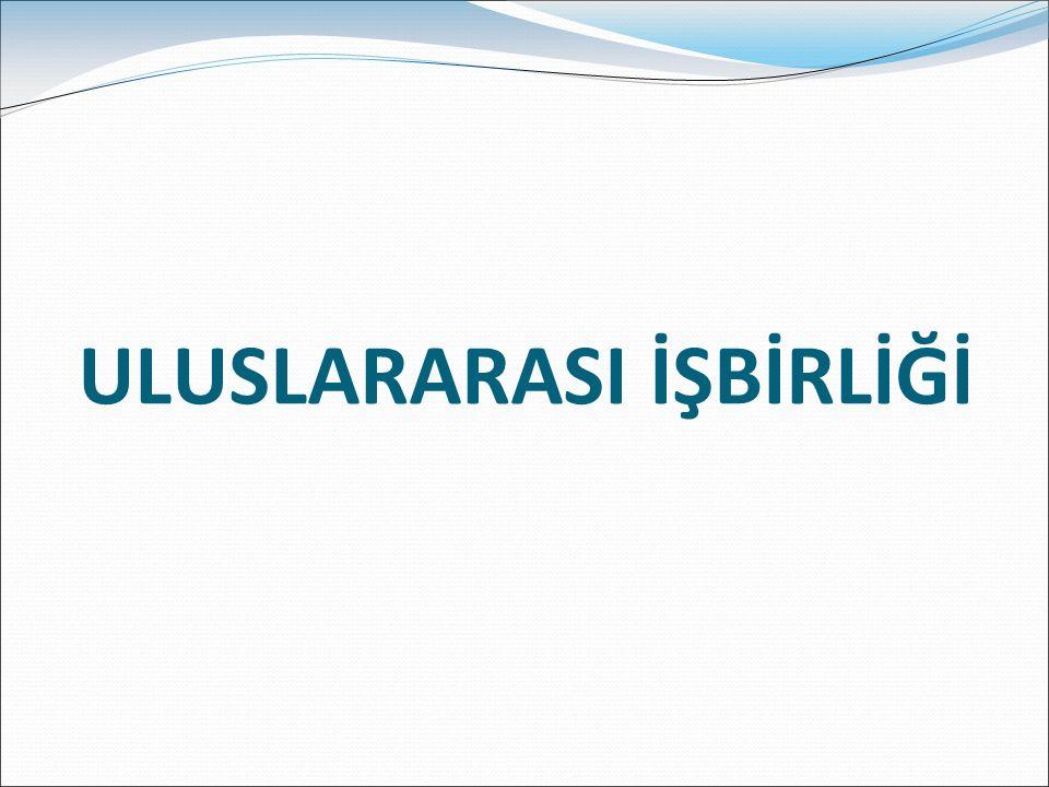 ULUSLARARASI İŞBİRLİĞİ