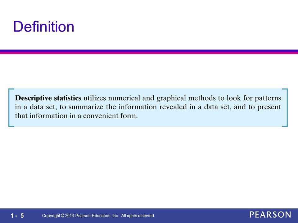1 - 26 Definition (Bias/Yanlı-lık) Copyright © 2013 Pearson Education, Inc..