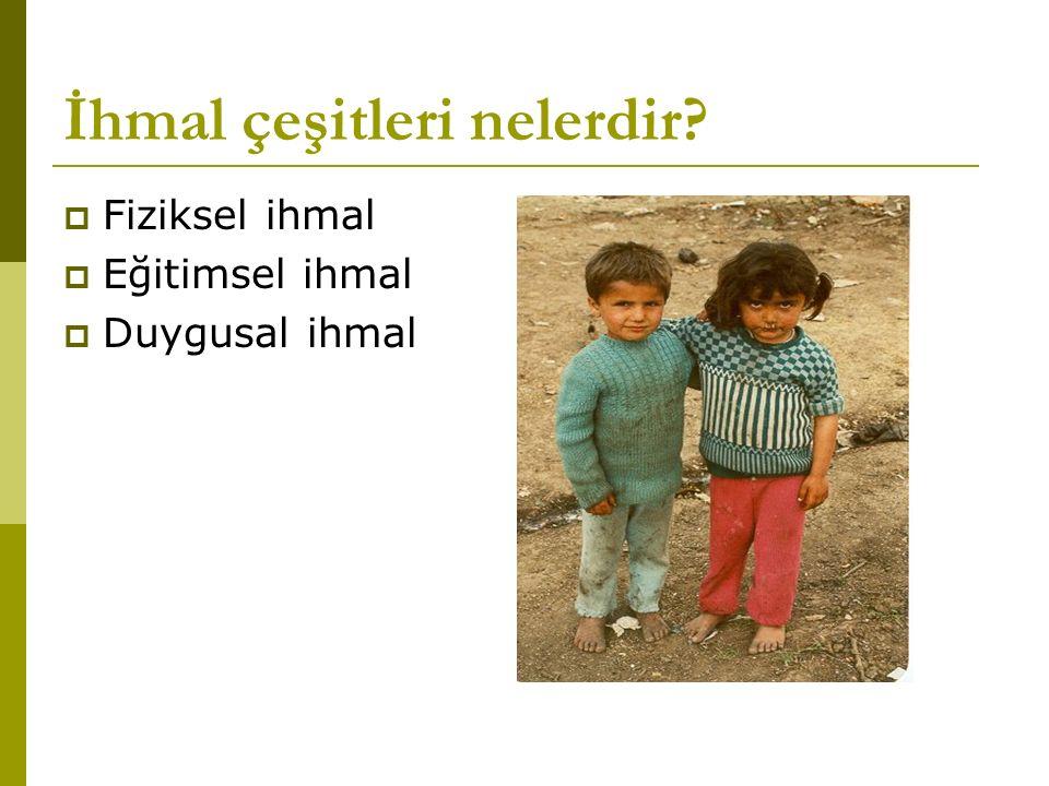 Fiziksel İstismarda Risk Faktörleri(Çocuk ile ilgili) Hiperaktif çocuk İstenmeyen bir gebelik sonrası dünyaya gelen çocuk Engelli çocuk Özel bir bakım gerektiren (örn: çok küçük prematüre, hastalığı olan) çocuk