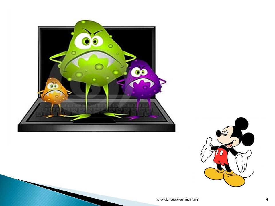 Bir bilgisayar virüsünün üç temel karakteristiği vardır: 1.Kendi kendini çoğaltma mekanizması.