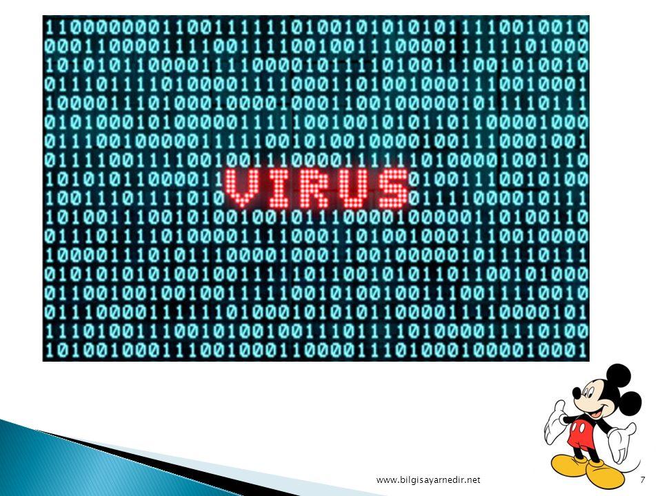 Virüslere Karşı Aşı Virüslere karşı aşı tabiriyle kastedilen, anti- virüs yazılımlarıdır.