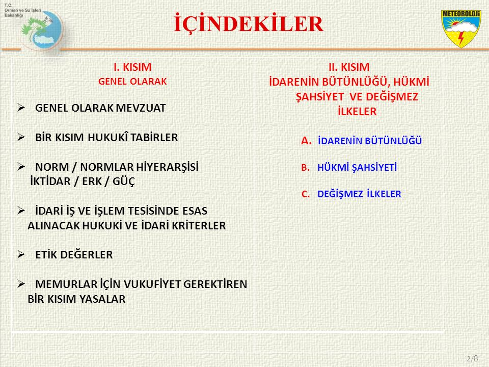 YASAMA YETKİSİ Madde 7 – Yasama yetkisi Türk Milleti adına Türkiye Büyük Millet Meclisinindir.
