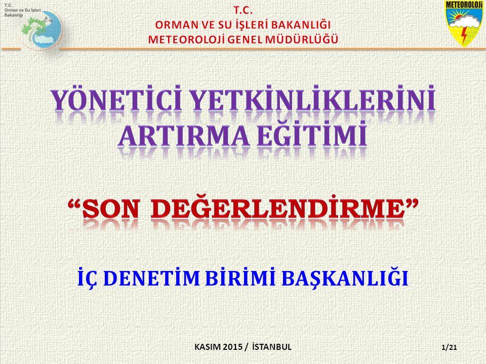 KASIM 2015 / İSTANBUL 2/21 SORU 1- Aşağıdakilerden hangisi doğrudan temin yöntemi ile alım yapabilir.