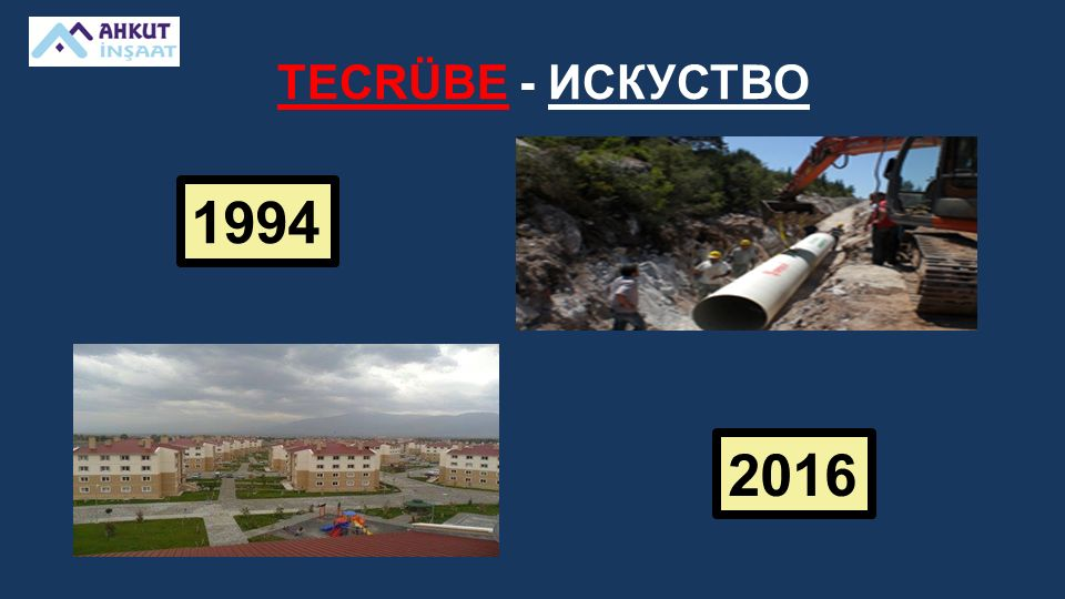 TECRÜBE - ИСКУСТВО 1994 2016