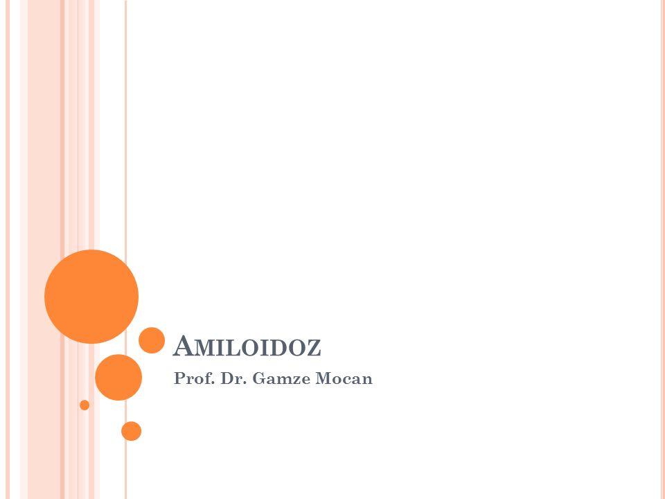 A MILOIDOZ Prof. Dr. Gamze Mocan