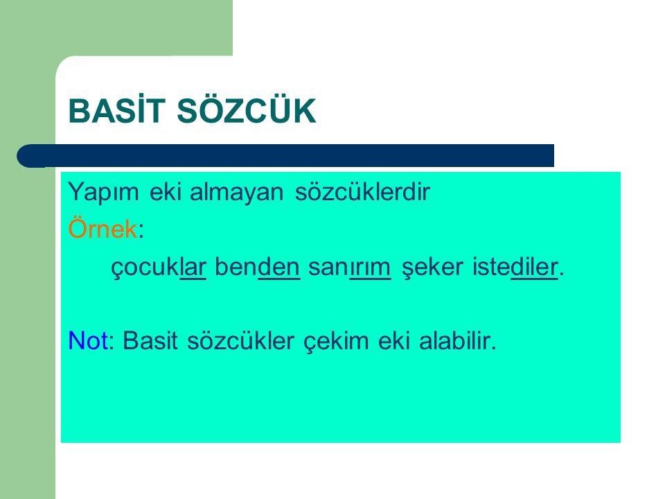 B-YARDIMCI FİİlLE KURULMUŞ B.