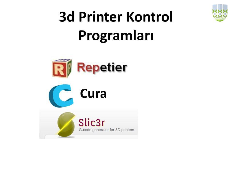 3d Printer Kontrol Programları Cura