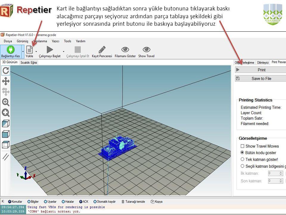 Cura Cura programı katı modelleme programlarında oluşturduğumuz modellerin baskılarını almak için kullanabileceğimiz bir programdır.