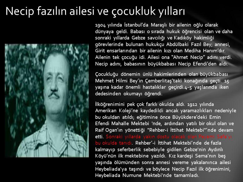 1904 yılında İstanbul'da Maraşlı bir ailenin oğlu olarak dünyaya geldi. Babası o sırada hukuk öğrencisi olan ve daha sonraki yıllarda Gebze savcılığı
