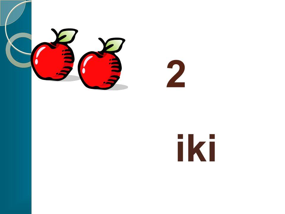 2 elma eder.