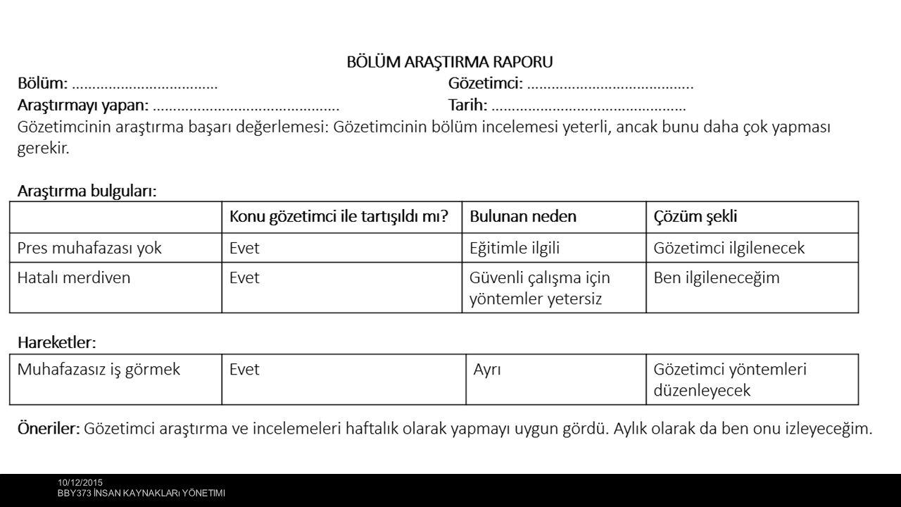 10/12/2015 BBY373 İNSAN KAYNAKLARı YÖNETIMI 15