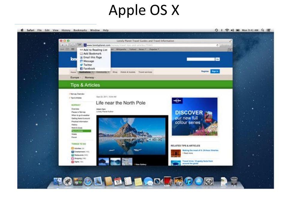 Apple OS X