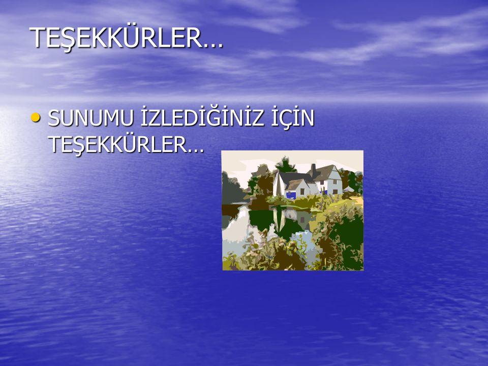 Kaynaklar www.turkcecıler.com www.turkcecıler.com www.turkcecıler.com www.bilgiyelpazesi.net www.bilgiyelpazesi.net www.bilgiyelpazesi.net