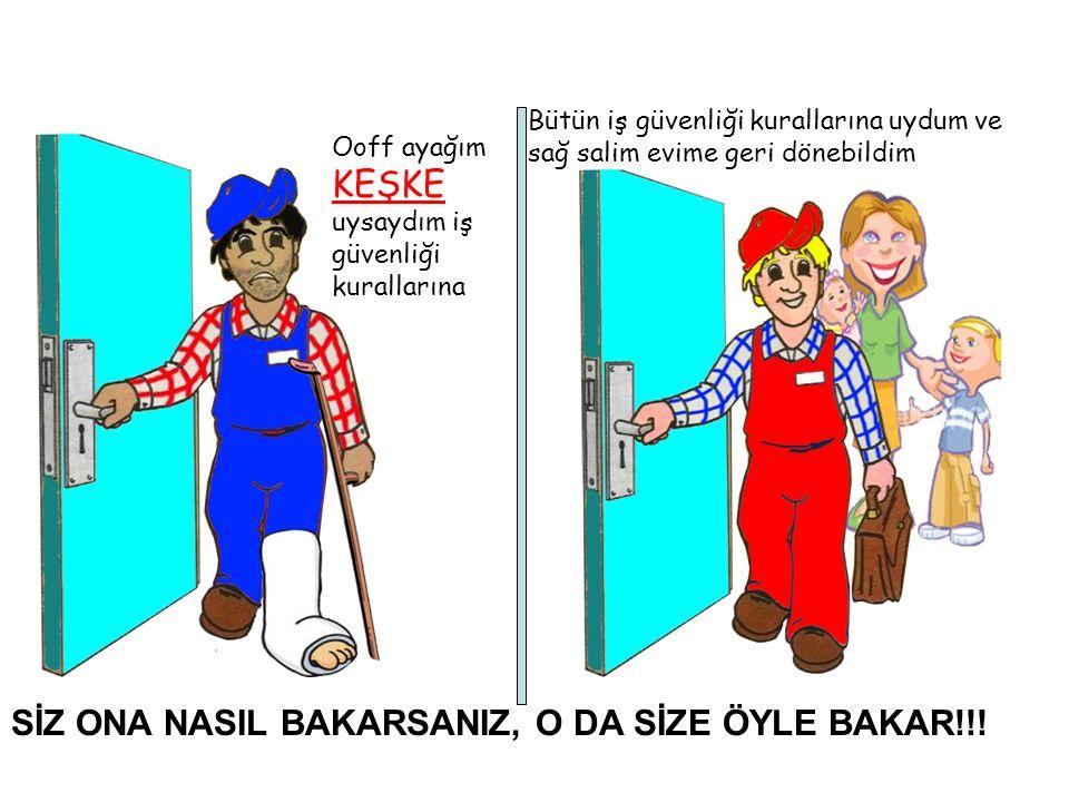 SİZ ONA NASIL BAKARSANIZ, O DA SİZE ÖYLE BAKAR!!.