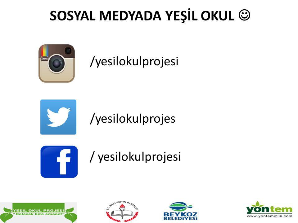 SOSYAL MEDYADA YEŞİL OKUL /yesilokulprojesi /yesilokulprojes / yesilokulprojesi
