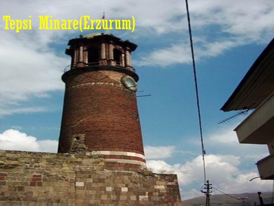 Tepsi Minare(Erzurum)