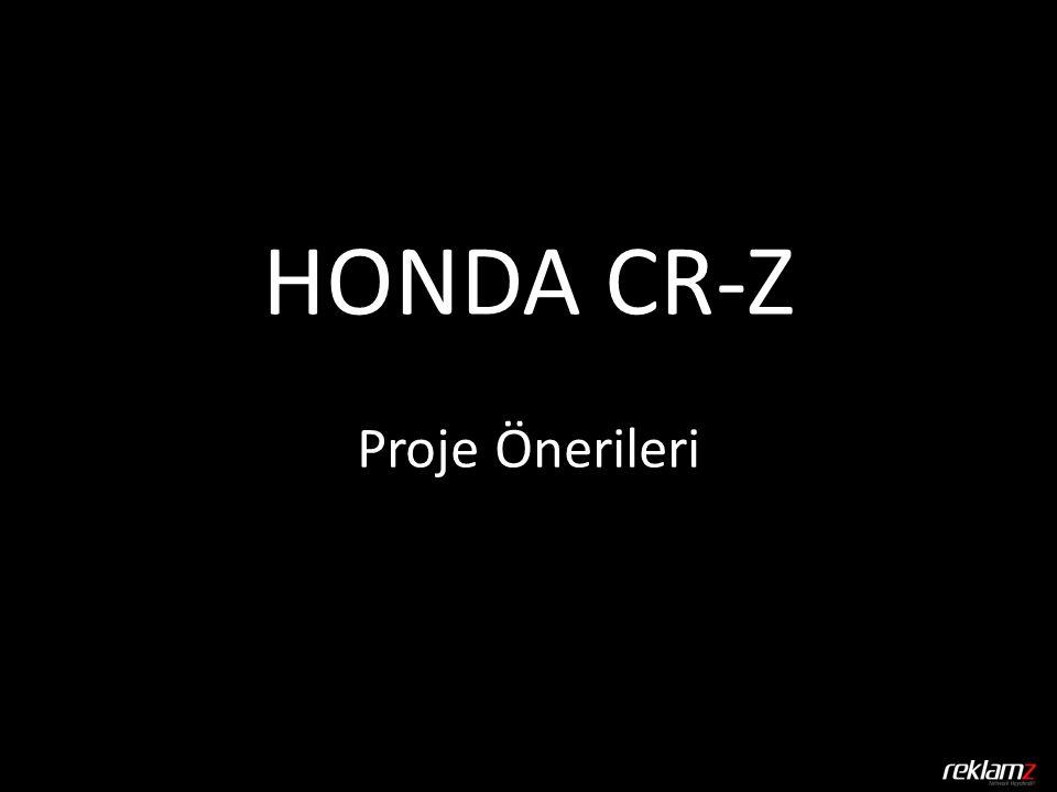 HONDA CR-Z Proje Önerileri