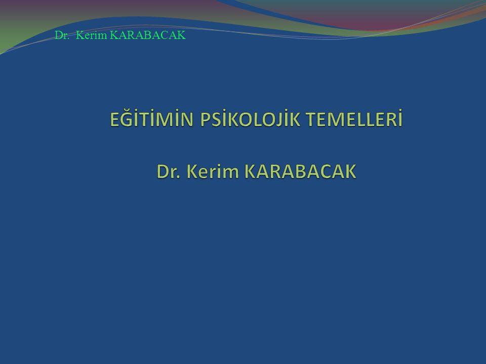 Dr. Kerim KARABACAK