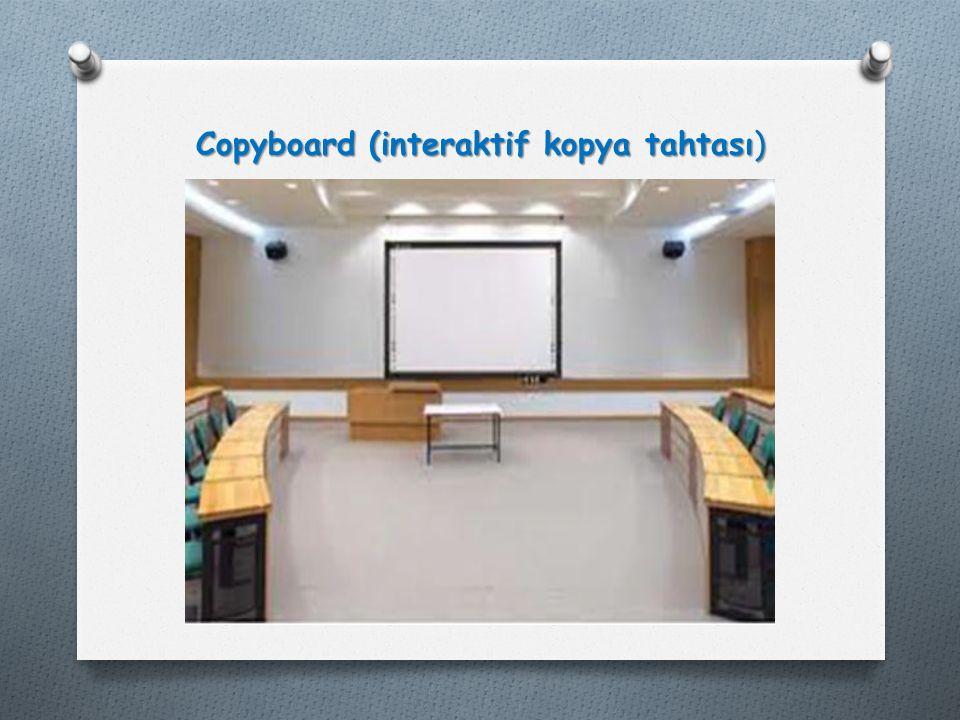Copyboard (interaktif kopya tahtası)