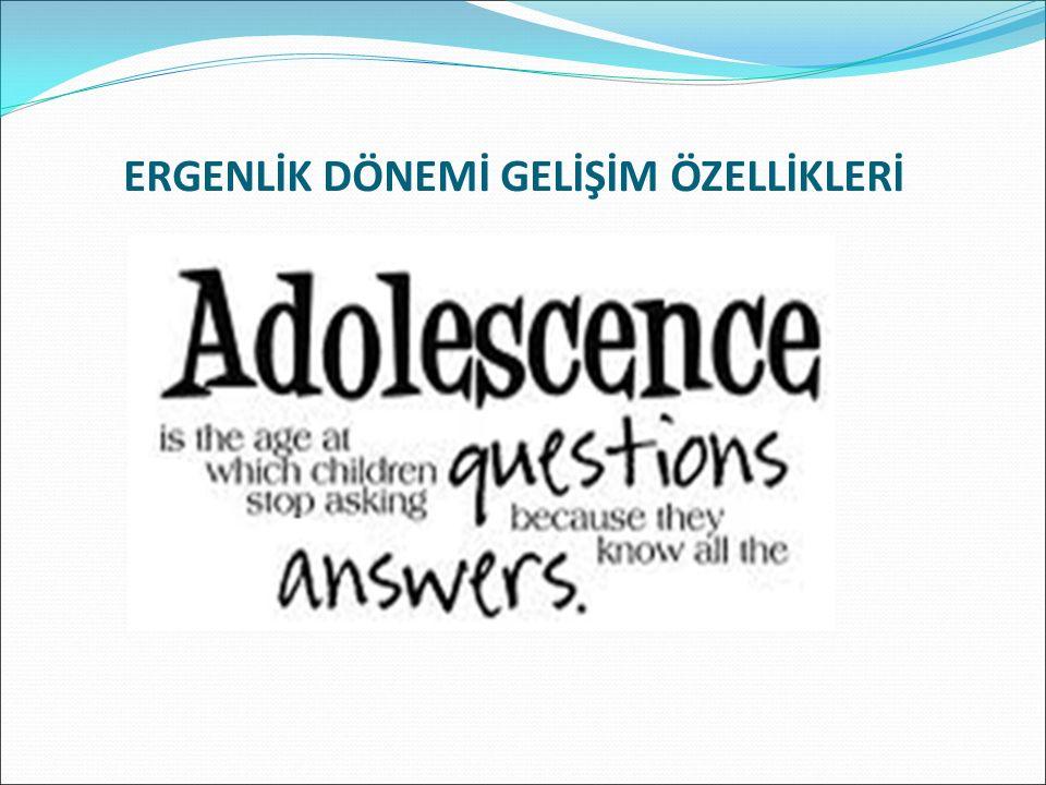 ERKEKLERDE ERGENLİK ERGENLİK BELİRTİLERİ ERKEKLERDE ORTALAMA 13-15 YAŞLARINDA BAŞLAR.