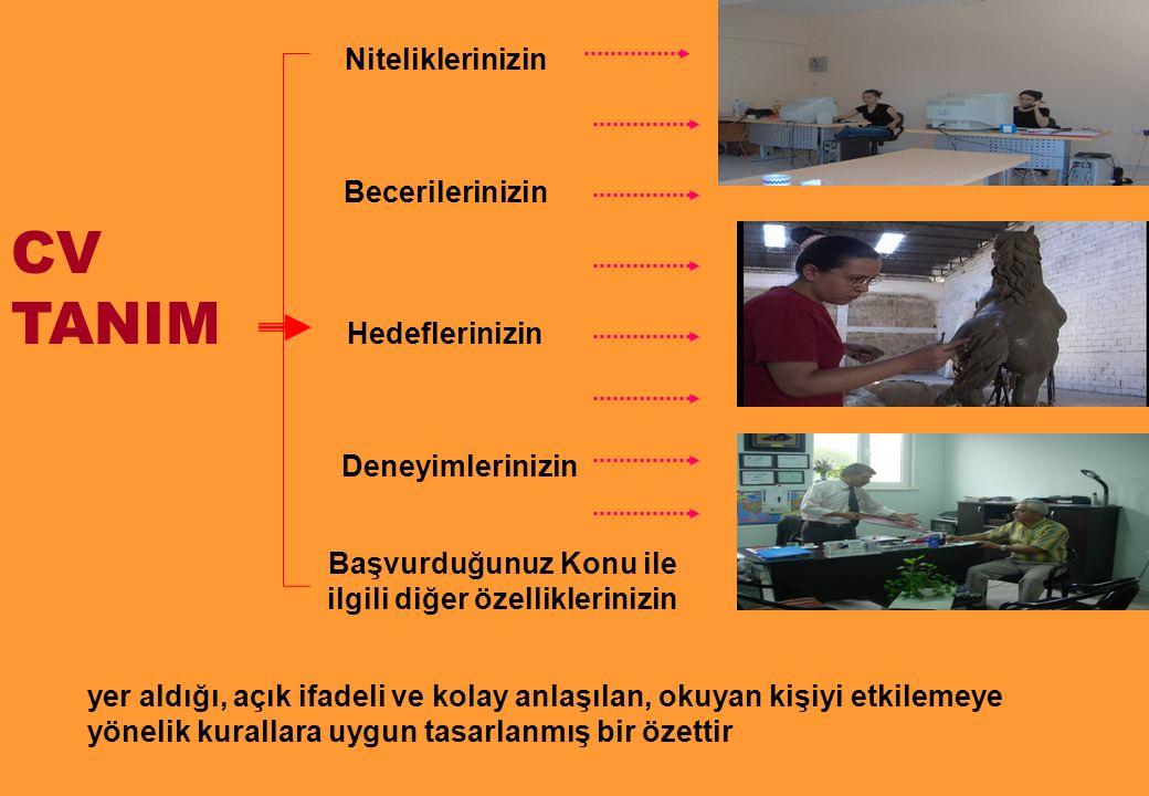 ÖN MEKTUP ÖRNEĞİ Sn.Ahmet Yılmaz İnsan Kaynakları Direktörü AAA A.Ş.