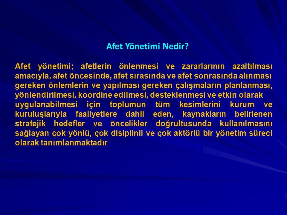 Türkiye'nin Afet Yönetimi Tarihçesi Afet yönetimi tarihimiz oldukça eskilere dayanmakla beraber bu alandaki ilk düzenleme, 14 Eylül 1509 tarihinde meydana gelen, 13.000'in üzerinde insanın yaşamını yitirdiği, 109 cami ve 1.047 yapının yıkıldığı İstanbul depremi sonrasında, dönemin Osmanlı Padişahı II.