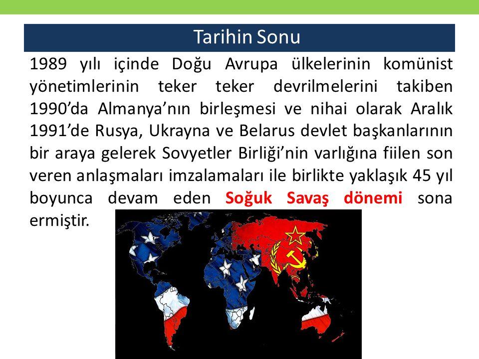 Ek Okuma Önerileri Anthony Best, vd., Uluslararası Siyasi Tarih: 20 Yüzyıl, İstanbul: Yayın Odası, 2008 Sedat Laçiner ve Arzu Celalifer Ekinci, .