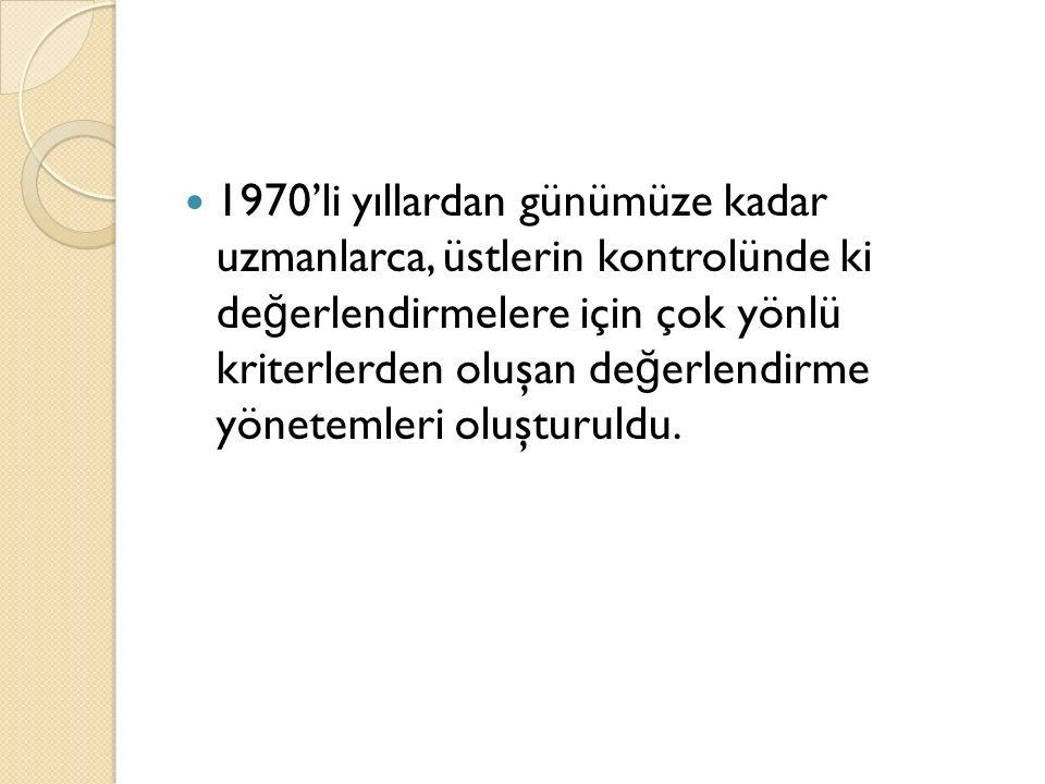 Ülkemizde ise ilk defa 1948 yılında Karabük Demir Çelik Fabrikalarında ve daha sonra Sümerbank, Makine ve Kimya Endüstirisi ile Devlet Demir Yolları vb.