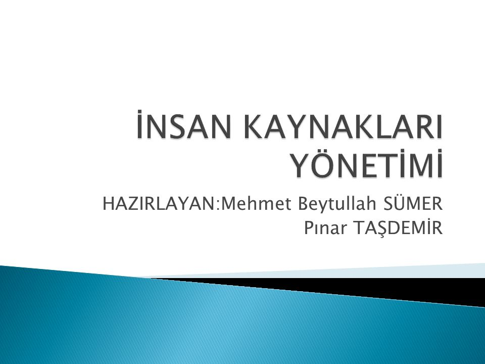 HAZIRLAYAN:Mehmet Beytullah SÜMER Pınar TAŞDEMİR