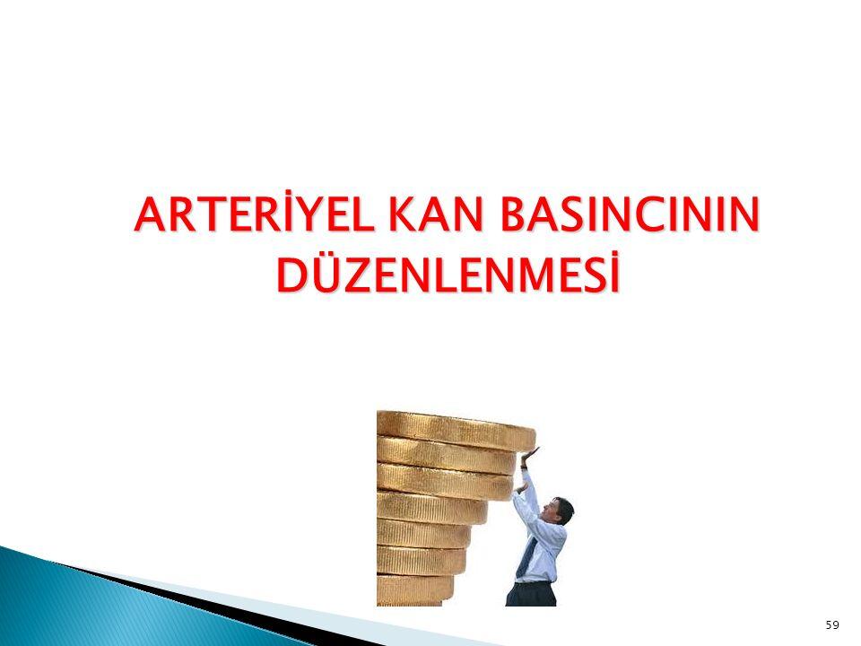 ARTERİYEL KAN BASINCININ DÜZENLENMESİ 59