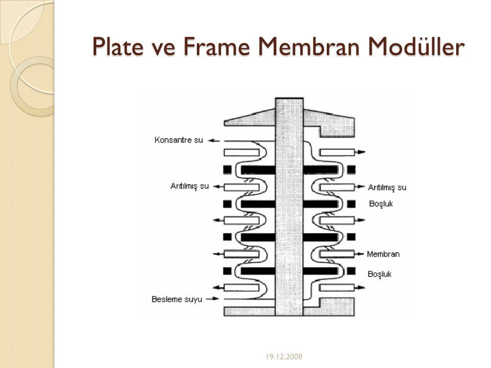 Plate ve Frame Membran Modüller 19.12.2008