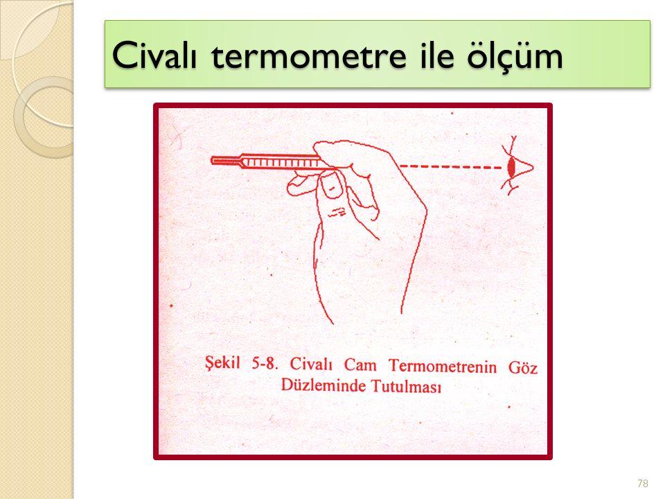 Civalı termometre ile ölçüm 78