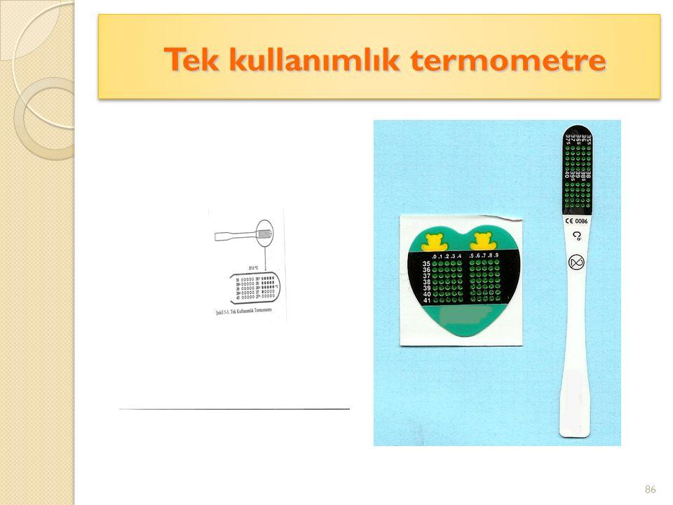 Tek kullanımlık termometre Tek kullanımlık termometre 86