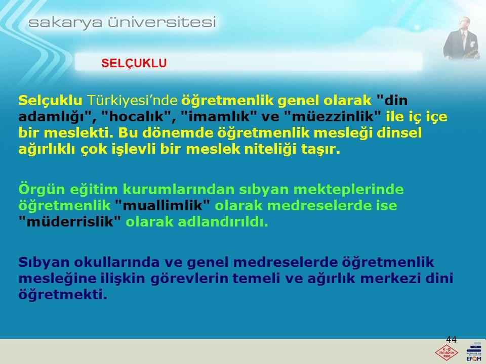 Nasrettin Hoca'nın Türk Eğitim Tarihindeki yeri 1.Bir halk eğitimcisidir. 2.Verdiği temel derslerin başlıcaları, iyimser olma ve sağduyu ile düşünme ü