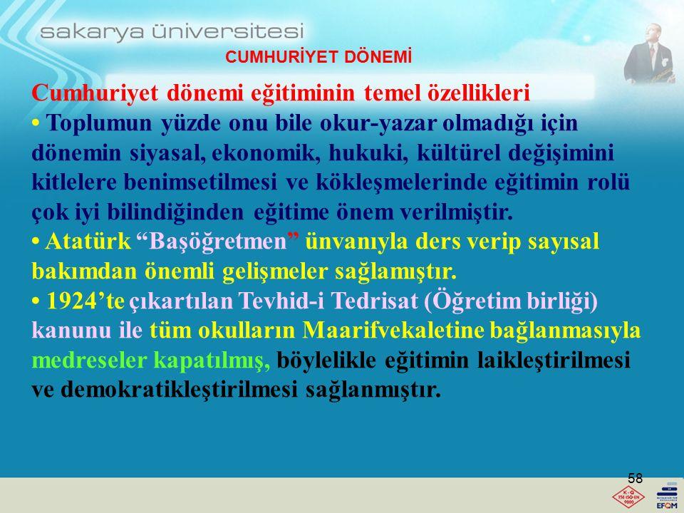 Darülmuallimin-i Rüşdi'den (İlköğretimin ikinci kademesi)(1848) sonra, Darülmuallimin-i Sıbyan (İlkokul)(1870) Darülmuallimin-i İdadi (Orta dereceli)(
