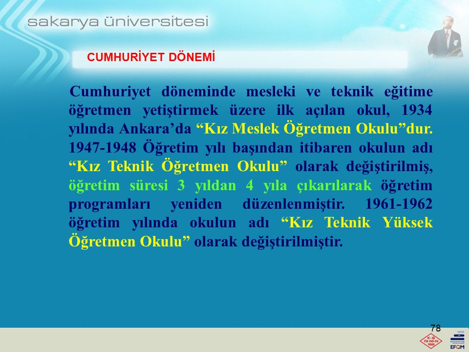 Lise Öğretmenlerine duyulan ihtiyacın artması karşısında 12 Ağustos 1959 yılında Ankara'da ve 19 Ekim 1964'de İzmir'de birer Yüksek Öğretmen Okulu dah