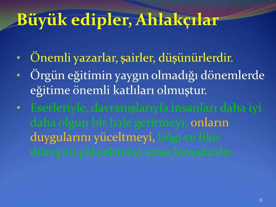 Osmanlı döneminde öğretmenlik mesleğine ilişkin durum 15.Yüzyıl ortalarına kadar Selçuklu dönemindekinin hemen hemen aynıdır.