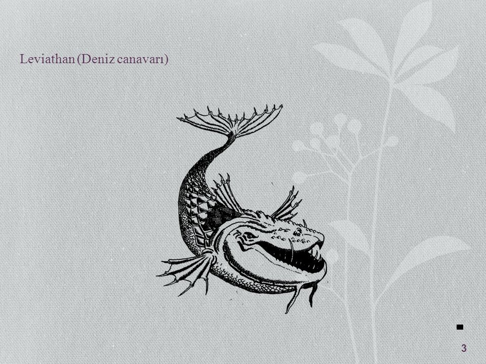Leviathan (Deniz canavarı) 3