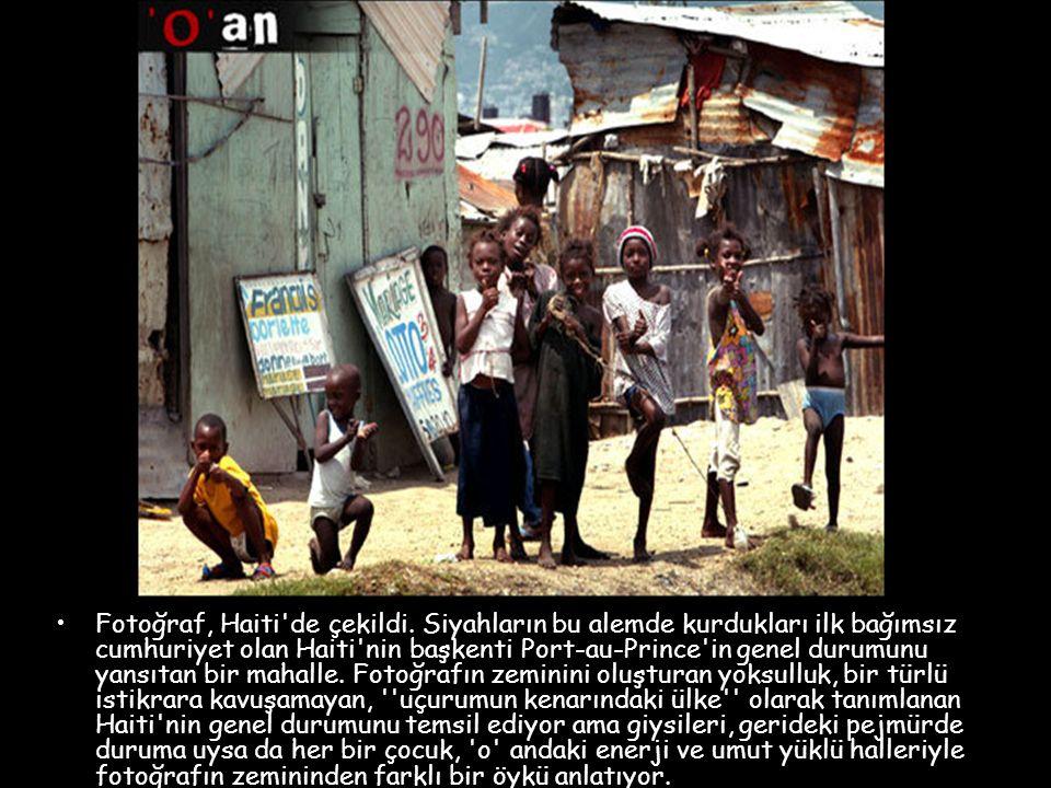 Fotoğraf, Haiti de çekildi.