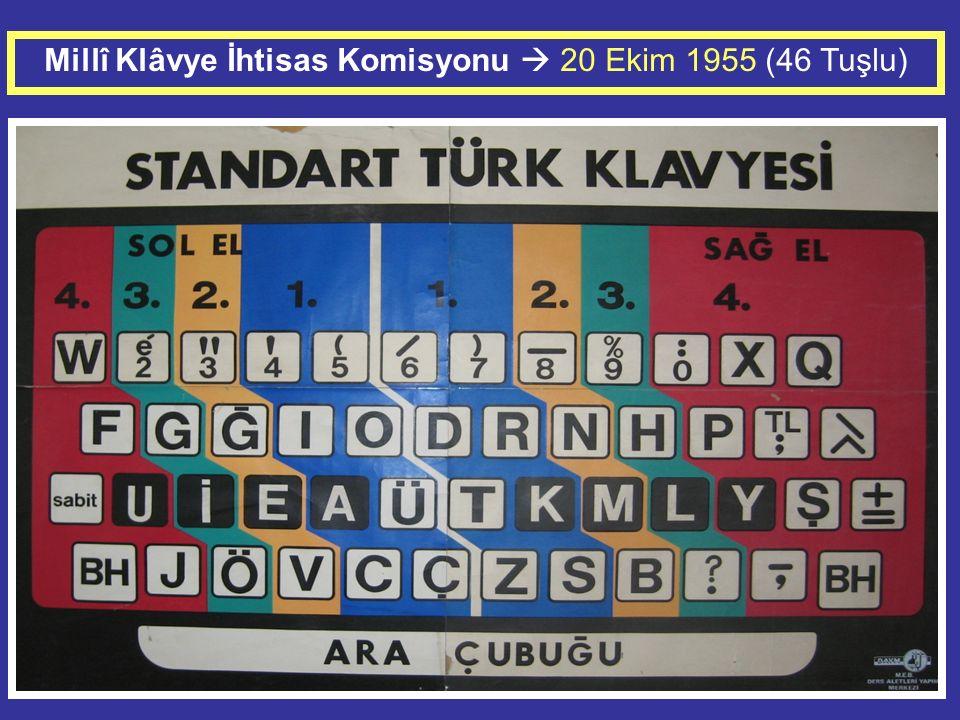 Türk Standardları Enstitüsü TS 2117 – Nisan 2006 ALFASAYISAL TÜRKÇE KLAVYELERİN TEMEL YERLEŞİM DÜZENİ