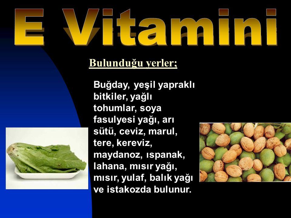 Buğday, yeşil yapraklı bitkiler, yağlı tohumlar, soya fasulyesi yağı, arı sütü, ceviz, marul, tere, kereviz, maydanoz, ıspanak, lahana, mısır yağı, mı