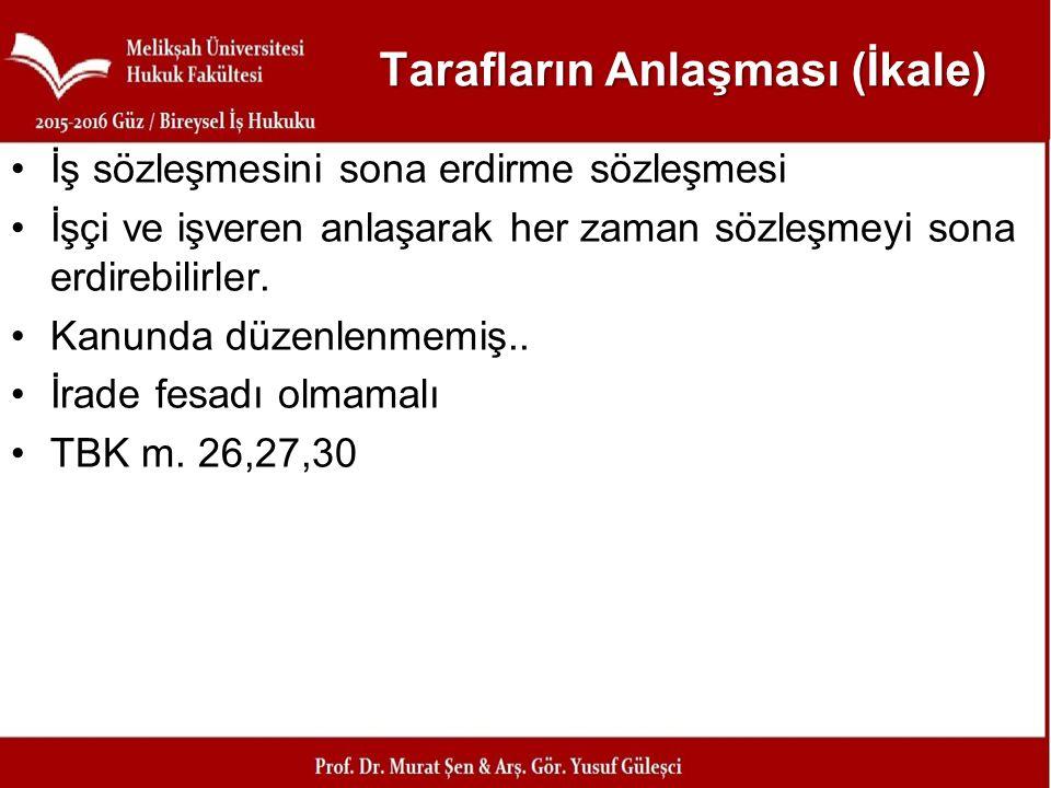 Yargıtay Kararı, (Y9HD., 13.6.2013, E.2013/5291, K.